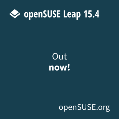 Days until openSUSE release